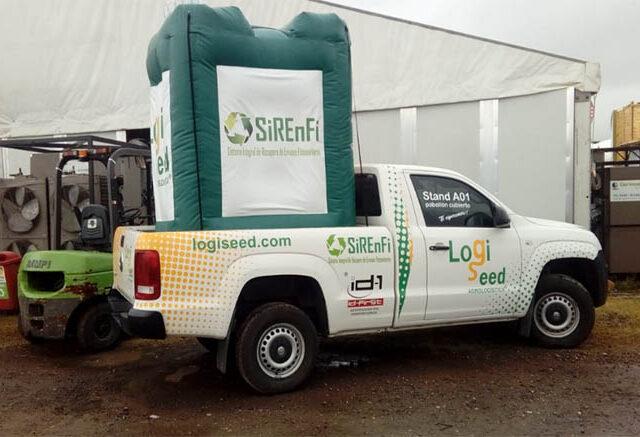 Presentan sistema de trazabilidad para bidones de agroquímicos de 1.000 litros