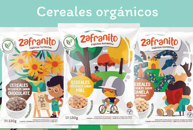 Zafrán lanzó nuevas galletitas orgánicas para combatir la obesidad infantil