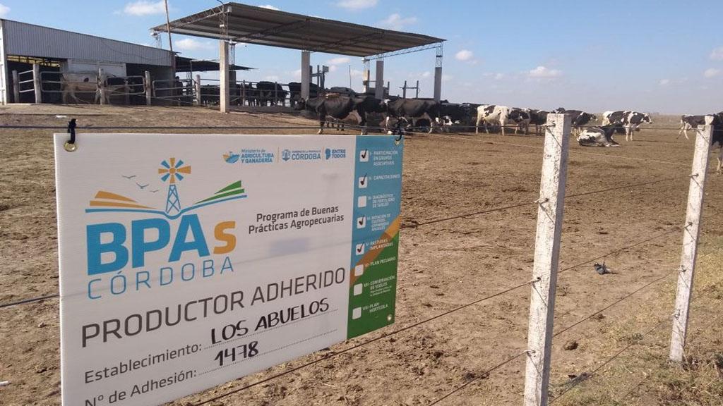 Ya están disponibles las capacitaciones virtuales del nuevo Programa de BPAs de Córdoba