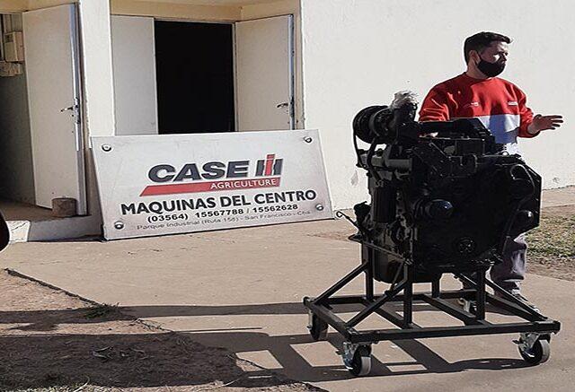 Donación de motores para apoyar la educación de las futuras generaciones agrícolas