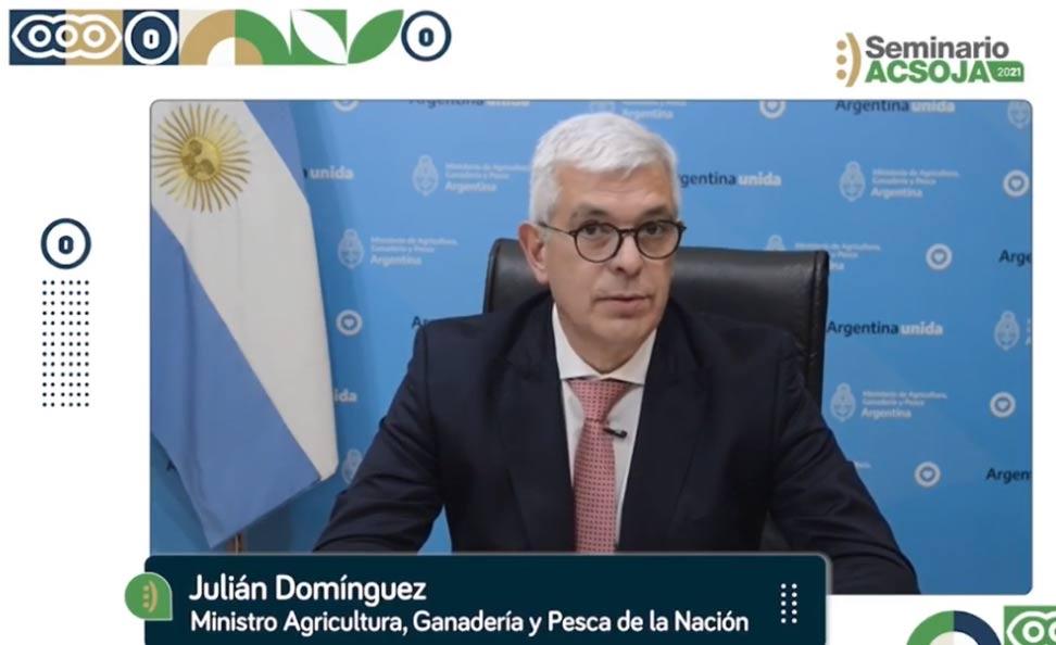 Debut del ministro Domínguez: mensaje conciliador al campo